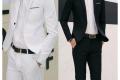Klasik ve Spor Yelekli Takım Elbise Bir Arada