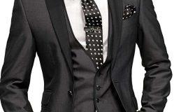 Erkek siyah takım elbise kombinasyonları